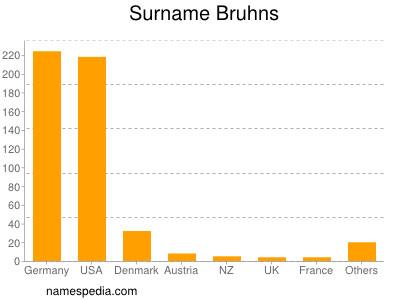 Surname Bruhns