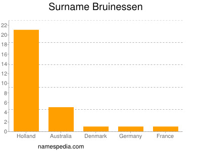 Surname Bruinessen