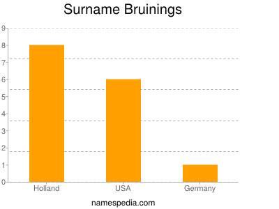 Surname Bruinings