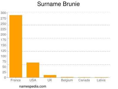 Surname Brunie