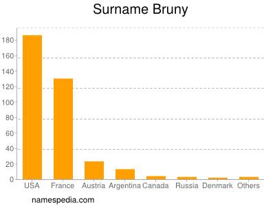 Surname Bruny