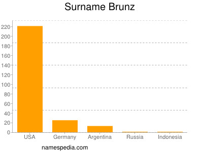 Surname Brunz