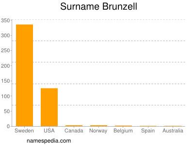 Surname Brunzell