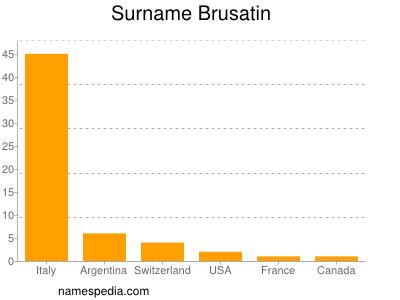 Surname Brusatin
