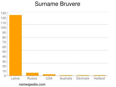 Surname Bruvere