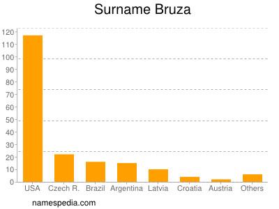 Surname Bruza
