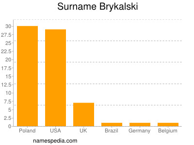 Surname Brykalski
