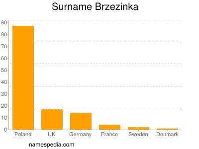 Surname Brzezinka