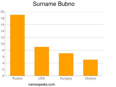 Surname Bubno