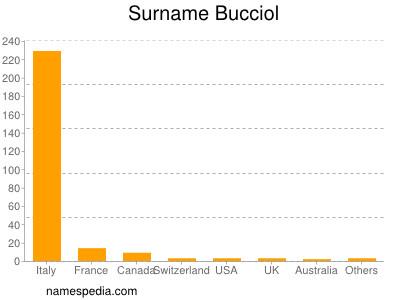 Surname Bucciol