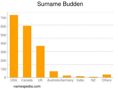 Surname Budden