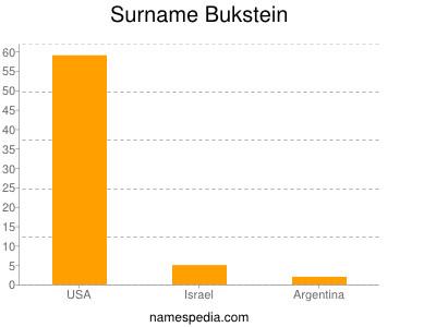 Surname Bukstein