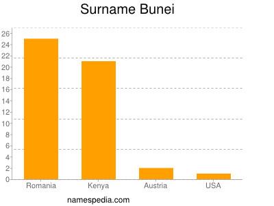 Surname Bunei