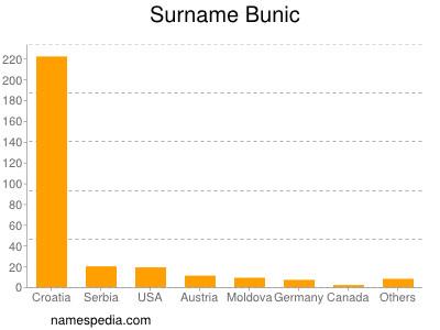Surname Bunic