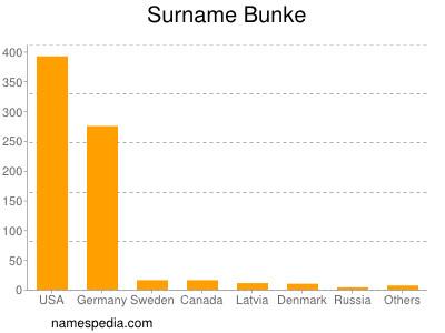Surname Bunke