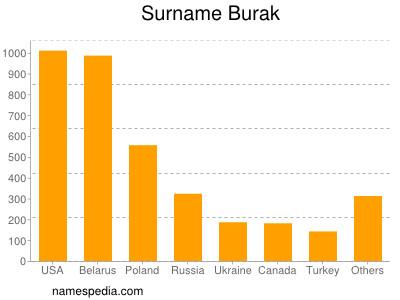 Surname Burak