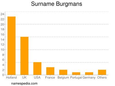 Surname Burgmans