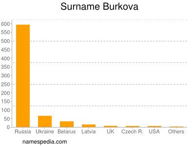 Surname Burkova