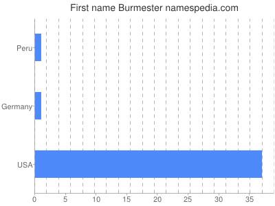 Given name Burmester