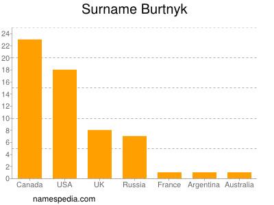 Surname Burtnyk