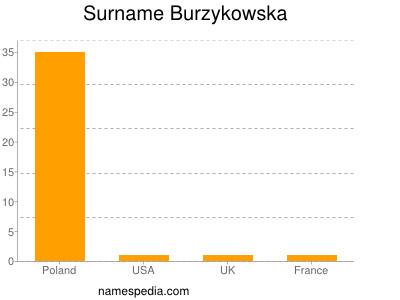 Surname Burzykowska