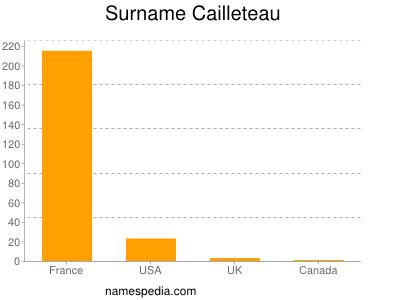 Surname Cailleteau