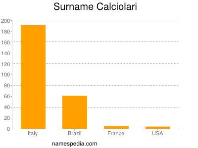 Surname Calciolari