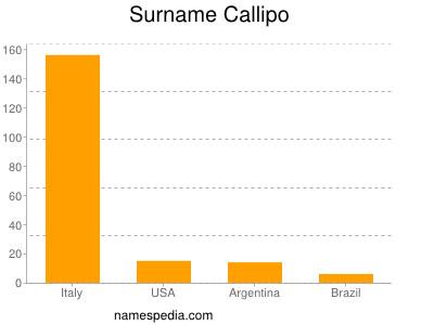 Surname Callipo