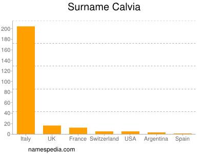 Surname Calvia