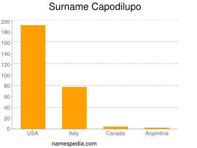 Surname Capodilupo