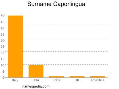 Surname Caporlingua