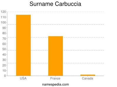 Surname Carbuccia