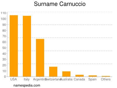 Surname Carnuccio