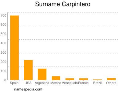 Surname Carpintero