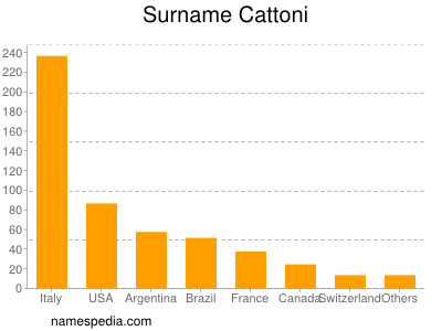 Surname Cattoni
