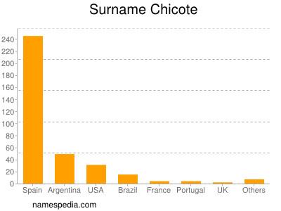 Surname Chicote