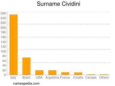 Surname Cividini