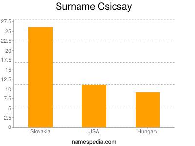 Surname Csicsay