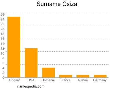 Surname Csiza