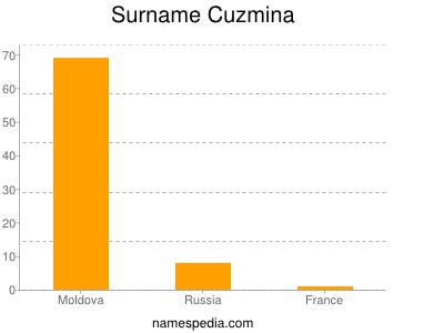 Surname Cuzmina