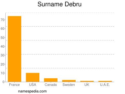 Surname Debru