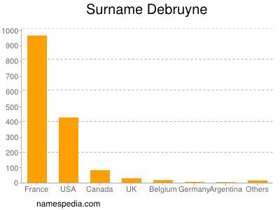 Surname Debruyne