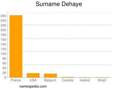 Surname Dehaye
