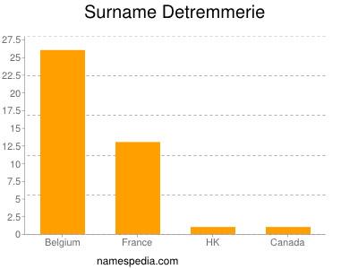 Surname Detremmerie