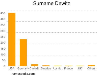 Surname Dewitz