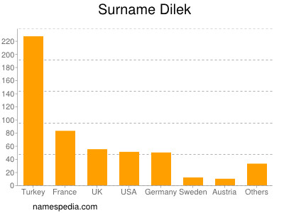 Surname Dilek