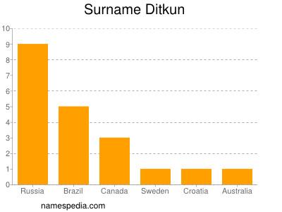 Surname Ditkun
