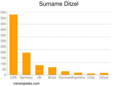 Surname Ditzel