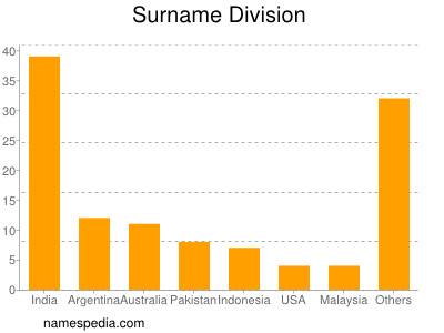 Surname Division