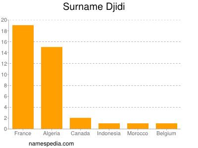 Surname Djidi